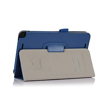 i-Blason AVIVO8-1F-BLUE Synthetic Leather Case for Asus VivoTab Note 8 Tablet, Blue