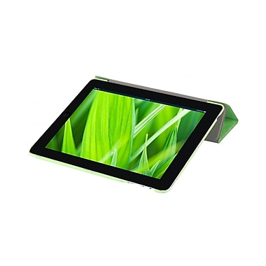 i-Blason IPAD5-3F-GREEN Faux Leather Folio Case for Apple iPad Air, Green