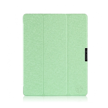 i-Blason MINI2-3F-GREEN Faux Leather Folio Case for Apple iPad Mini, Green