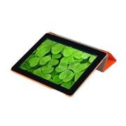 i-Blason IPAD5-3F-ORANGE Faux Leather Folio Case for Apple iPad Air, Orange