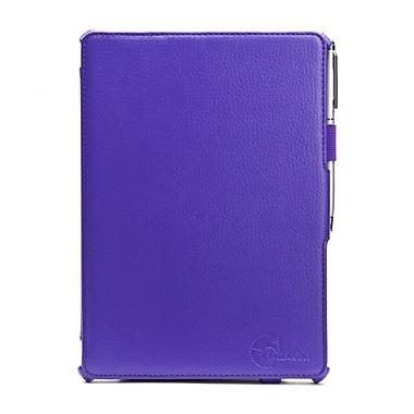 i-Blason IPAD5-H-PURPLE Faux Leather Slim Folio Case for Apple iPad Air, Purple