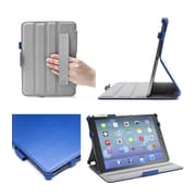 i-Blason IPAD5-H-BLUE Faux Leather Slim Folio Case for Apple iPad Air, Blue