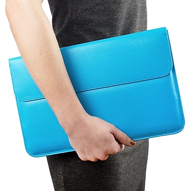 Snugg B00IYJXZ6U Polyurethane Leather Sleeve for Microsoft Surface Pro/Surface RT, Cyan