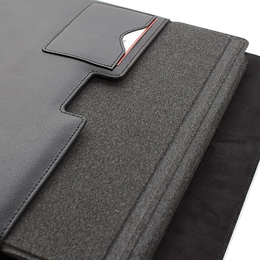 Snugg B00D18U63O Polyurethane Leather Sleeve for Microsoft Surface Pro/Surface RT, Black