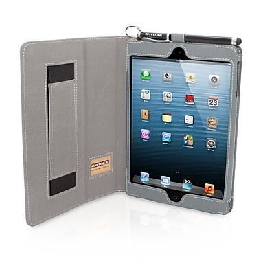 Snugg B00FF8PAW0 PU Leather Flip Stand Cover for Apple iPad Mini/Mini 2 Retina, Gray