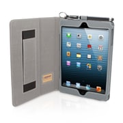 Snugg B00FF8PAW0 PU Leather Flip Stand Cover for Apple iPad Mini/Mini 2 Retina, Gray
