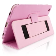 "Snugg B00EQ3GTJI Polyurethane Leather Folio Case Cover and Flip Stand for 8"" Samsung Galaxy Tab 3, Candy Pink"