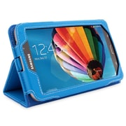 "Snugg B00EPD1M7S Polyurethane Leather Folio Case Cover and Flip Stand for 7"" Samsung Galaxy Tab 3, Electric Blue"
