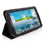 "Snugg B00E38KLJU Polyurethane Leather Folio Case Cover and Flip Stand for 7"" Samsung Galaxy Tab 3, Black"