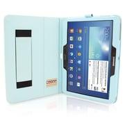 "Snugg B00EQ6JKEG Polyurethane Leather Folio Case Cover and Flip Stand for 10.1"" Samsung Galaxy Tab 3, Baby Blue"