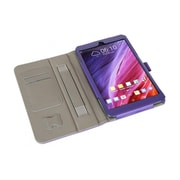 i-Blason MEMOPAD8-1F-PUR Synthetic Leather Folio Case for Asus Memo Pad 8, Purple
