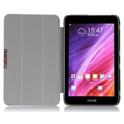 i-Blason MEMOPAD7-3F-BLK Slim Hard Shell Stand Case for Asus Memo Pad 7, Black
