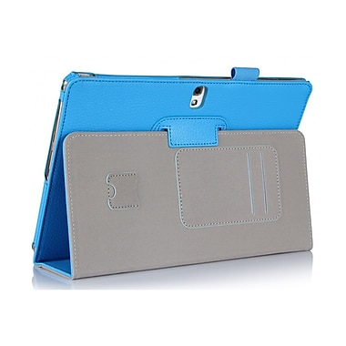 i-Blason GTABS10-1F-BLUE Synthetic Leather Folio Case for 10.5
