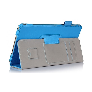 i-Blason GTABS8.4-1F-BLU Synthetic Leather Folio Case for 8.4