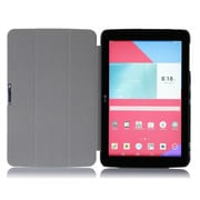 "i-Blason GPAD10-3F-BLK Slim Hard Shell Stand Case for 10.1"" LG G Pad Tablet, Black"