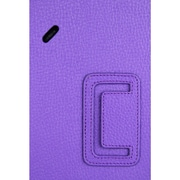 "i-Blason GPAD10-1F-PURP Synthetic Leather Folio Case for 10.1"" LG G Pad Tablet, Purple"