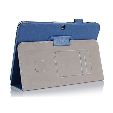 i-Blason GTAB4-10-1F-BLU Synthetic Leather Slim Book Case for 10