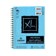 Canson XL Mix Media Pads 7 in. x 10 in. pad of 60 sheets wire bound [Pack of 3]