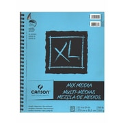 Canson XL Mix Media Pads 11 in. x 14 in. pad of 60 sheets wire bound [Pack of 2]