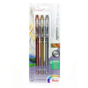Pentel Slicci Extra Fine Metallic Gel Pens assorted pack of 3 [Pack of 2]