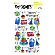Darice Stickerz happy birthday [Pack of 12]