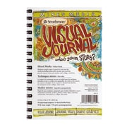 Strathmore Visual Mixed Media Journals 5 1/2 in. x 8 in. 34 sheets [Pack of 3]