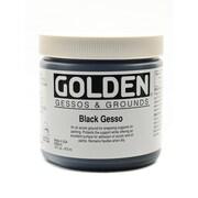Golden Acrylic Gesso, Black, 16oz (27514)