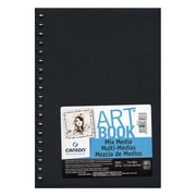 Canson Art Book All Media Watercolor Sketch Books 7 in. x 10 in. heavy weight 40 sheets [Pack of 2]