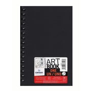 "Canson Art Book ONE Sketch Books, Wire Bound, 5 1/2"" x 8 1/2"", 80 Sheets, 3/Pack (60541-PK3)"