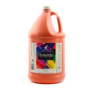 Chroma Inc. ChromaTemp Artists' Tempera Paint, Orange, Gallon (21018)