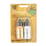 Ranger Vintaj Patina Kits Treasured Heirloom Collection Noveau Silver and Victorian Gold Pack of 2 (4504)