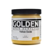 Golden OPEN Acrylic Colors Yellow Oxide 8 oz. Jar (59999)