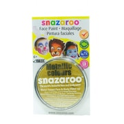 Snazaroo Face Paint Colors metallic gold [Pack of 2]