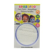 Snazaroo Face Paint Colors white [Pack of 3]