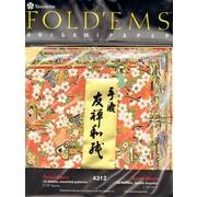 "Yasutomo Fold'ems Origami Paper Yuzen: 8 Patterns, 5 7/8"", 2/Pack (6574-PK2)"