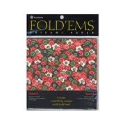 Yasutomo Fold'ems Origami Paper yuzen II: 8 patterns 5 7/8 in. pack of 24 [Pack of 3]