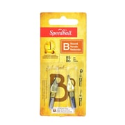 Speedball Round Pen Nibs B-5, B-6 pack of 2 [Pack of 6]
