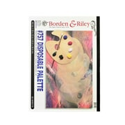 Borden  and  Riley #757 Disposable Palette Pad 12 in. x 16 in. [Pack of 2]
