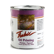Fredrix Oil Priming - Titanium Dioxide quart can