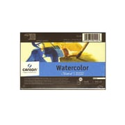 Canson Montval Watercolor Paper 4 in. x 6 in. block of 15 140 lb. cold press [Pack of 3]