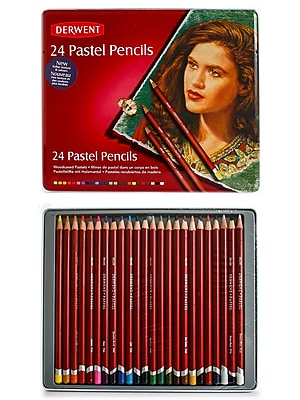 Derwent Pastel Pencil Set, 24/Set 1722288
