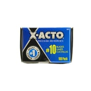 X-Acto No. 10 General Purpose Blades pack of 100