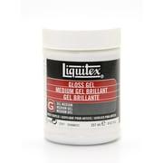 Liquitex Acrylic Gloss Gel Medium 8 oz.