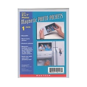 "Magtech Magnetic Photo Pockets, 5"" x 7"", 12/Pack (38050-PK12)"
