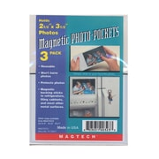 Magtech Magnetic Photo Pockets 2 1/2 in. x 3 1/2 in. pack of 3 [Pack of 12]