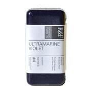 R  and  F Handmade Paints Encaustic Paint ultramarine violet 40 ml