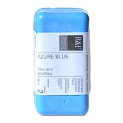 R  and  F Handmade Paints Encaustic Paint azure blue 40 ml [Pack of 2]