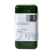 R  and  F Handmade Paints Encaustic Paint sap green 40 ml