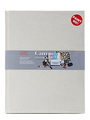 Cachet Canvas Sketch Book 11 in. x 8 1 2 in.