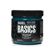 Liquitex Basics Acrylics Colors phthalocyanine green 32 oz. jar